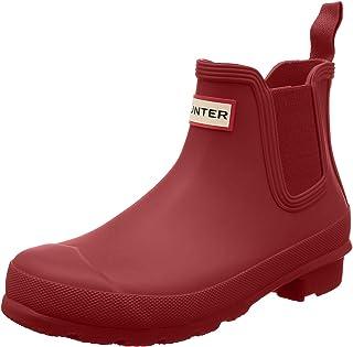HUNTER 雨靴 WOMENS ORIGINAL CHELSEA 女士 军事红 24.0 cm