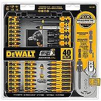 DEWALT德伟DWA2T40IR IMPACT READY FlexTorq螺丝批头工具包 40件装