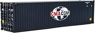 Walthers SceneMaster HC RS CMA-CGM 容器 168 months to 1200 months Hi Cube Corrugated Side Container HO Scale Model 40' Foot Container Cma-cgm (Globe Logo)