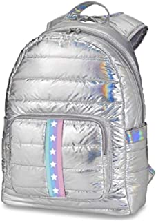 Top Trenz 彩虹银色河豚背包 星星和条纹