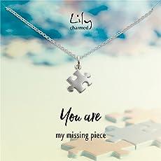 Lily Charmed 英国品牌 手工打造 40cm 925银 女士项链