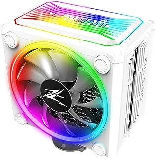 Zalman 查尔曼 CNPS 16x,真正的 RGB LED CPU 散热器带 4D *波纹鳍设计,120 毫米,适用于 Intel 和 AMD