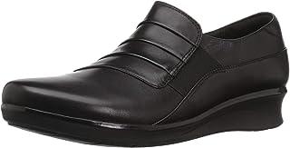 Clarks Hope Whisper 女士浅口皮革平底鞋