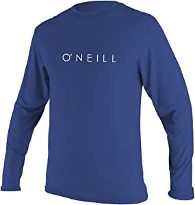 O'Neill Youth Basic Skins Upf 30 + 长袖太阳衬衫 4 蓝色 5092-018-4