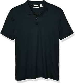 Calvin Klein 男士液体棉条纹 Polo 衫