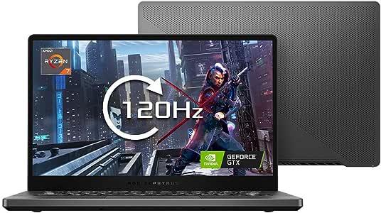 ROG Zephyrus G14 GA401IU 14 英寸全高清 120Hz 薄边框游戏笔记本电脑(AMD Ryzen 7 4800HS,Nvidia GeForce GTX 1660Ti 6GB Max-Q 显卡,512G PCI-e SSD,16GB 内存,Windows 10)