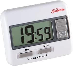 Sunbeam Digital Large Display Timer 白色 1 - Pack