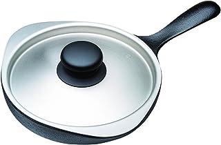 柳宗理 铸铁锅 单柄煎锅18cm(不锈钢盖)