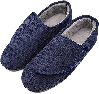 男士*泡沫*人拖鞋带可调节封口,超宽舒适保暖羊毛衬里* * 室内/室外