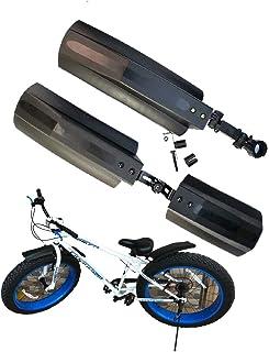 BlueSunshine 66.04 厘米雪自行车前后挡泥板自行车挡泥板适用于胖轮胎山地自行车