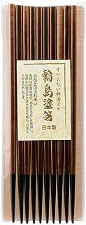 山下工芸(Yamasita craft) 日本製 国産輪島塗木箸 5善セット 黒茶