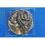 猴年80毫米高浮雕生肖兽首大铜章 黄铜铸造