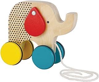 Petit Collage 鳄鱼木形状分类器和拉玩具 1份