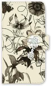 whitenuts 壳 手册式 装饰品WN-OD242561 2_ Xperia XZ SO-01J 黑