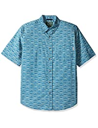 Woolrich 男式 Walnut Run 印花衬衫