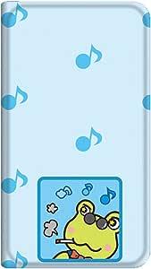 智能手机壳 手册式 对应全部机型 薄型印刷手册 cw-181top 套 手册 青蛙 超薄 轻量 UV印刷 壳WN-PR017376-M AQUOS PHONE CL IS17SH 图案 A