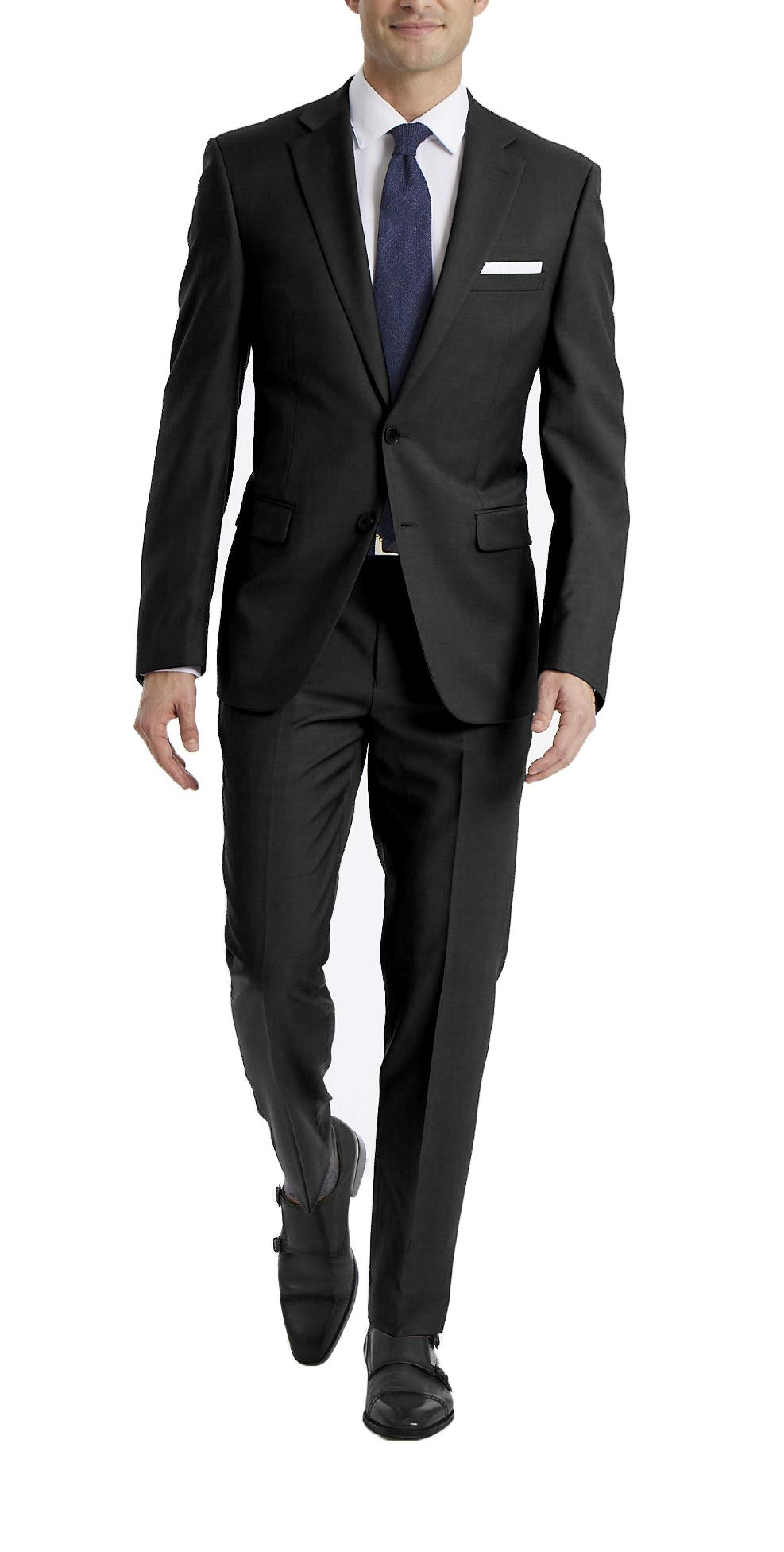 Calvin Klein 卡尔文·克莱恩 男士 X Fit Stretch修身西服套装