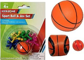 篮球主题复活节篮球活动与游戏 4 件套礼品套装包括:运动球和果克斯套装、泡沫篮球、黑客袋和迷你弹跳