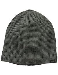 李维斯男式华夫格针织帽带羊羔毛衬里