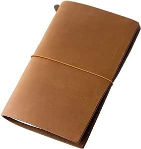MIDORI TRAVELER'S Notebook 皮质笔记本 驼色 标准型