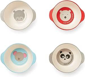 Red Rover 20013 Animal Bamboo 儿童杯 4 件套 多种颜色 多种颜色 4 件套 20015