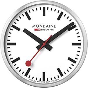 Mondaine SBB Smart stop2go 挂钟 - 铝 - iOS/Android