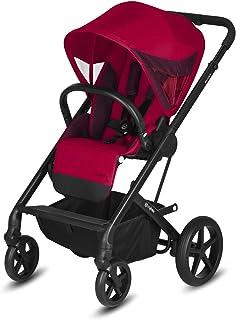 CYBEX Gold 婴儿推车,Balios S,法拉利,适用于初生婴儿至17kg(约4岁),赛车红