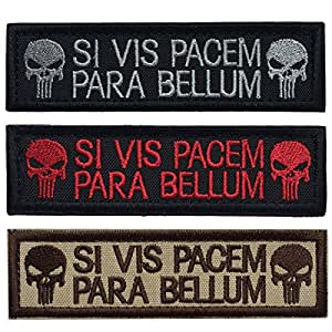 SpaceCar Punisher SI VIS Pacem para Bellum 战术士士气补丁 D - Bundle 3pcs SC-AP0098-C1
