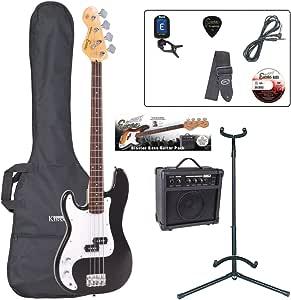 Encore EBP-LHE4BLK Elec. Bass Guitar 服装 左手 - 黑色