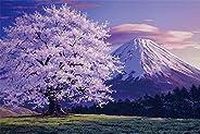1000片 拼图 富士山 樱花满开时(EVENTUAL PAYSAGE)(50x75cm)