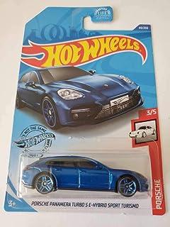 Hot Wheels 2020 保时捷Panamera Turbo S E-Hybrid Sport Turismo,蓝色 44/250