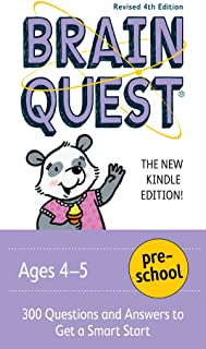 Brain Quest Preschool, revised 4th edition: 300 Questions and Answers to Get a Smart Start (Brain Quest Decks) (English Edition)