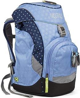 ERGOBAG 天空宽熊儿童背包,35厘米,蓝色圆点
