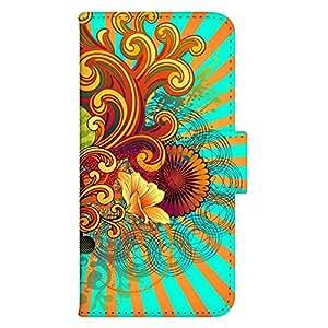智能手机壳 手册式 对应全部机型 印刷手册 wn-582top 套 手册 图形艺术 UV印刷 壳WN-PR061444-MX AQUOS Xx2 502SH B款