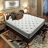 Airland 雅兰 舒伯特床架+希尔顿酒店版床垫套餐 真皮高档双人床 整网弹簧乳胶席梦思床垫1.8m*2.0m(商家直送)