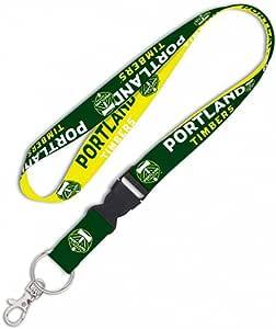 WinCraft MLS Portland Timbers 高级挂绳钥匙链