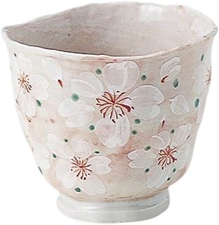 bloom 美浓烧 日式花 茶杯(粉红色) 15000