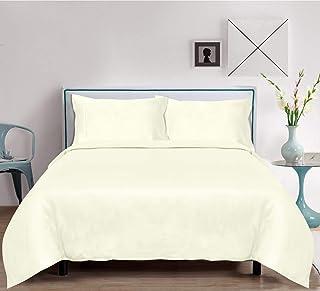 linenwalas luxe 纯 BAMBOO sheets–4件套床单套装–超软支棉缎 bedsheets & 枕套