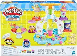 Hasbro 孩之宝 Play-Doh 培乐多彩泥 冰激凌旋风组合(白) B0306