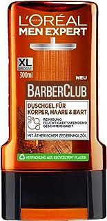 L'Oréal 欧莱雅 Men Expert Barber Club 沐浴露 适用于身体、*和胡须,300毫升