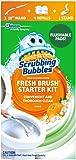 Scrubbing Bubbles 清新刷馬桶清潔系統入門套件(含 4 個替換裝)