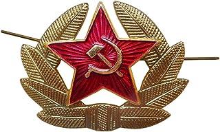 苏联军队 SOLDIER 冬季帽子徽章
