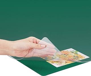 普乐士 桌垫 OA 对应鼠标 双重型(带垫底) 1190×690mm 透明