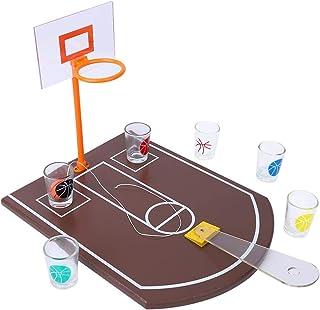 迷你桌面篮球饮料游戏亚克力板创意朋友家庭运动游戏酒吧派对娱乐