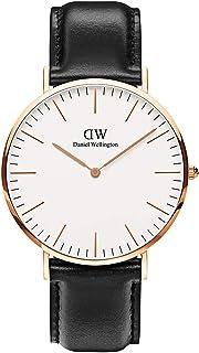 Daniel Wellington 丹尼尔•惠灵顿 瑞典品牌 Classic系列 玫瑰金表圈表扣 石英手表 男士腕表 DW00100007(原型号0107DW)