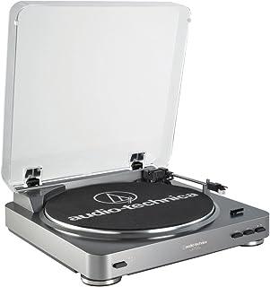 Audio-Technica 铁三角 自动唱机,带皮带驱动 AT-LP60BKBT 黑色
