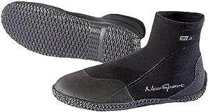 NeoSport Wetsuits 高级氯丁橡胶 3mm 低帮拉式靴子 4 黑色 SB30N-4