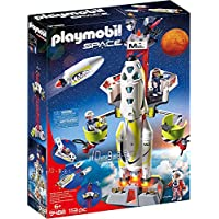 PLAYMOBIL 9488 玩具 火星火箭带发射台
