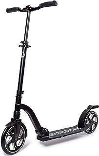Lascoota 儿童滑板车 8 岁及以上儿童 - 具有快速释放折叠系统 - 双悬架系统 + 滑板车肩带 7.9 英寸大轮 适合成人和青少年