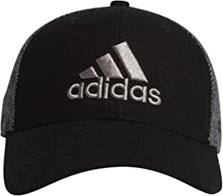 adidas Golf 阿迪达斯高尔夫 棒球帽 男士 黑色 日本 Free (FREE サイズ)
